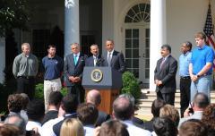 Solis: Obama focused on jobs