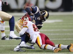 NFL: St. Louis 30, Washington 16