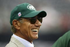 Joe Namath blames concussions for brain damage