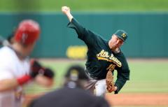 A's P Ben Sheets out for season