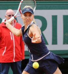 Vesnina, Halep rise in WTA rankings