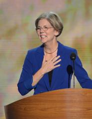 Elizabeth Warren doesn't know why critics call her a socialist