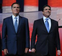 Perry, Romney joust in latest GOP debate