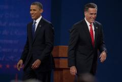 Romney takes the fight to Obama in Denver