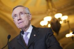 Harry Reid hospitalized