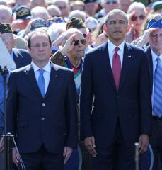 World leaders gather at Normandy to honor D-Day
