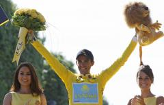 Contador takes tour lead into final stages