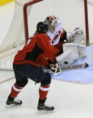 NHL: Carolina 5, New York Rangers 1