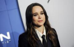 Ellen Page walks down the street with possible girlfriend