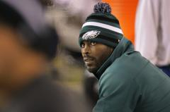 Vick still out of Eagles' lineup