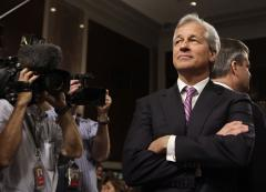 Jamie Dimon, CEO of JPMorgan Chase, has throat cancer