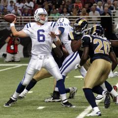 Orlovsky to start at quarterback for Colts