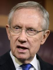 Reid opposes Obama on free-trade deals