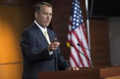 Boehner: 'I disagree' with calls to impeach Obama