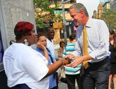 Thompson concedes to de Blasio in NYC Democratic mayoral primary