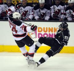 NHL: New Jersey 3, Los Angeles 1