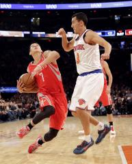 Houston Rockets guard Lin to miss two weeks