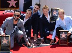 Backstreet Boys read Top 10 list on 'Late Show'