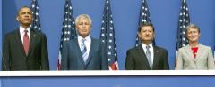 Hagel stands by Shinseki despite VA problems