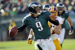 Foles out for Sunday; Vick likely to start