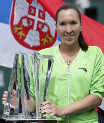 Jankovic tops S. Williams in Italian Open
