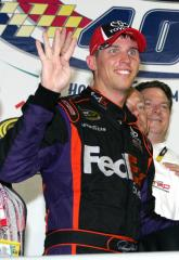 Hamlin wins Darlington for weekend sweep