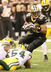 RB Deuce McAllister released by Saints