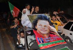 PTI protests alleged rigging in Pakistan elections
