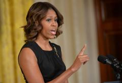 Michelle Obama announces initiative to end homelessness among veterans