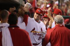 MLB: St. Louis 7, Milwaukee 6