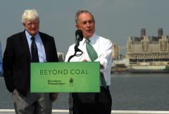 Bloomberg says world cities can help lead fight against climate change
