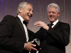 Likely defense nominee Hagel drawing fire