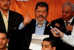 Morsi sworn in as Egypt's president