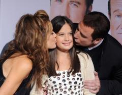 Report: Travolta's wife pregnant at 47