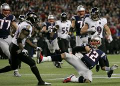 Tom Brady fined $10K for leg-up slide