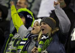 Seahawks fans register as earthquake