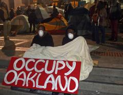 New Occupy Oakland camp rousted