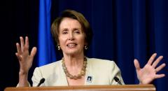 Pelosi ties VA action to unemployment insurance