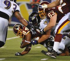 NFL: Baltimore 23, Washington 0