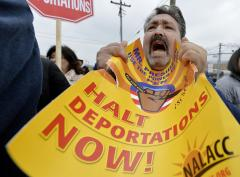 Immigration activists occupy House of Representatives
