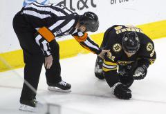 Bruins' Savard out again with concussion