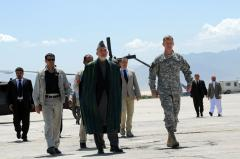 Karzai in Washington