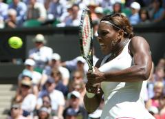 S. Williams, Wozniacki win at Wimbledon