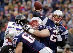 NFL: New England 23, Baltimore 20