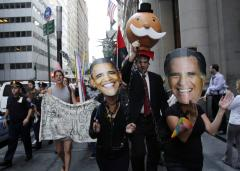 1st Obama-Romney debate: It's the economy