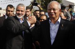 Malaysian PM 'shocked' by Malaysia Airlines crash in Ukraine