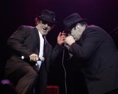 Blues Bros. perform at Brillstein memorial