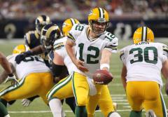 Baby born with broken collarbone named after Aaron Rodgers