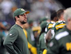 Rodgers back at quarterback for Green Bay
