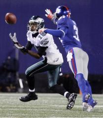 NFL: Philadelphia 45, New York Giants 38
